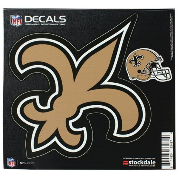 New Orleans Saints 8x8 Logo Decal