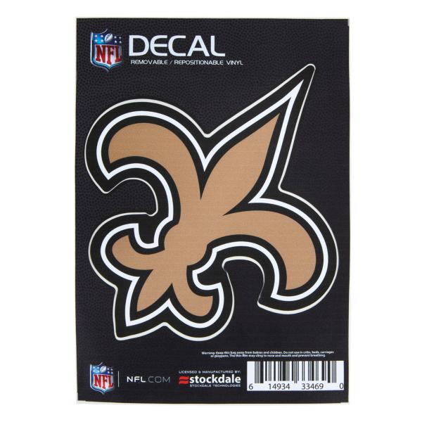 New Orleans Saints 5x7 Decal
