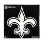 New Orleans Saints 12x12 Metallic Decal