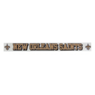 New Orleans Saints 2x19 Decal Strip