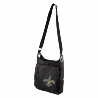 New Orleans Saints Noir Color Sheen Cross Body