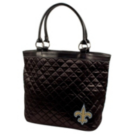 New Orleans Saints Quilted Tote