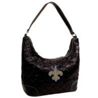 New Orleans Saints Quilted Hobo