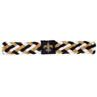 New Orleans Saints Braided Headband
