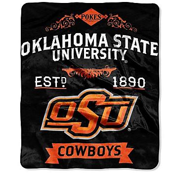 Oklahoma State Cowboys Raschel Throw