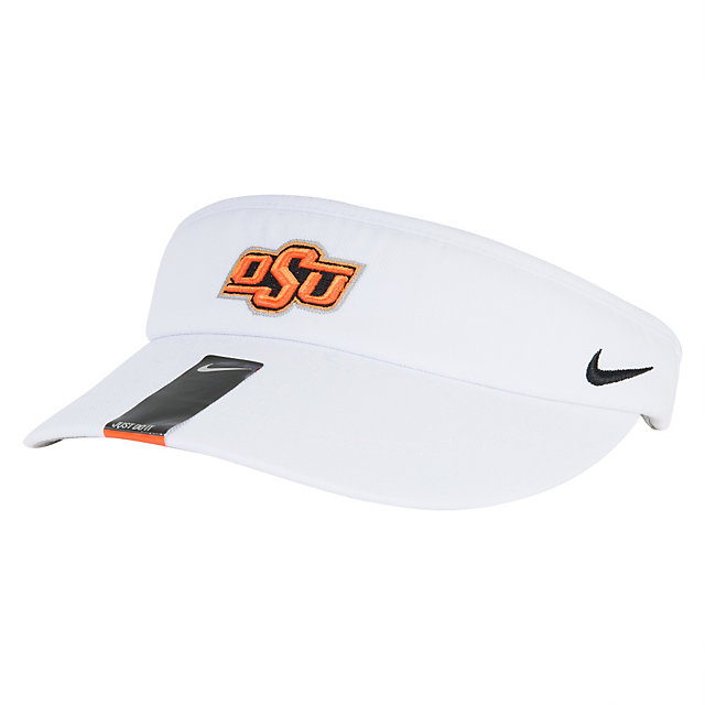 ee3e65fc3 Oklahoma State Cowboys Nike Sideline Dri-Fit Visor | Fans United