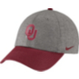 Oklahoma Sooners Nike Heritage 86 Heather Cap