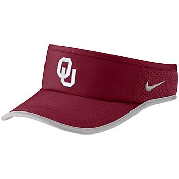 Oklahoma Sooners Nike Aerobill Featherlight Visor