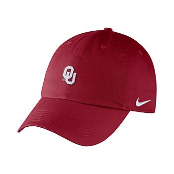 Oklahoma Sooners Nike Heritage 86 Adjustable Cap