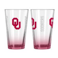 Oklahoma Sooners 16 oz Elite Pint