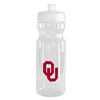 Oklahoma Sooners Squeeze Water Bottle