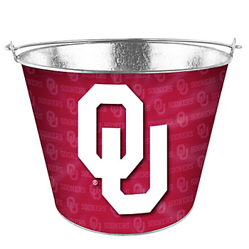Oklahoma Sooners Full Wrap Bucket