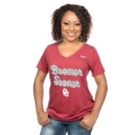 Oklahoma Sooners Nike Womens Script Tee