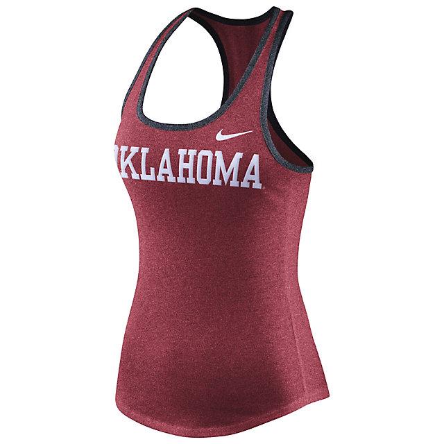 Oklahoma Sooners Nike Womens Marled Tank