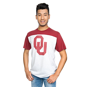Oklahoma Sooners 47 Drop Back Tee