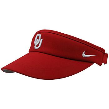 Oklahoma Sooners Nike Sideline Dri-Fit Visor