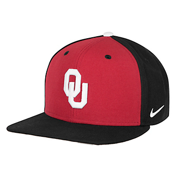 Oklahoma Sooners Nike Pro Verbiage Adjustable Cap