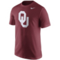 Oklahoma Sooners Nike Cotton Short Sleeve Logo Tee