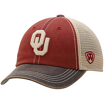 Oklahoma Sooners Top of the World Offroad Hat