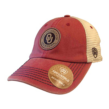 Oklahoma Sooners Top of the World Outlander Hat