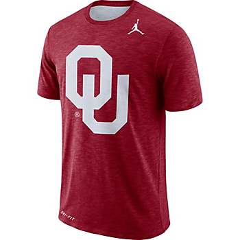 Oklahoma Sooners Jordan Sideline Jumpman Tee