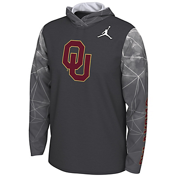 Oklahoma Sooners Nike Jordan College Football Playoff Team Issue Hoody Tee
