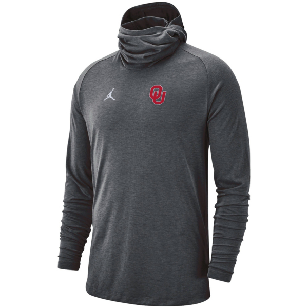 Oklahoma Sooners Jordan Bala Hooded Long Sleeve T-Shirt