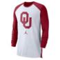 Oklahoma Sooners Nike Jordan Breathe Long Sleeve T-Shirt