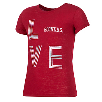Oklahoma Sooners Colosseum Girls Own This Town Short Sleeve T-Shirt