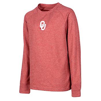 Oklahoma Sooners Youth Colosseum Viper Vennaro Raglan T-Shirt