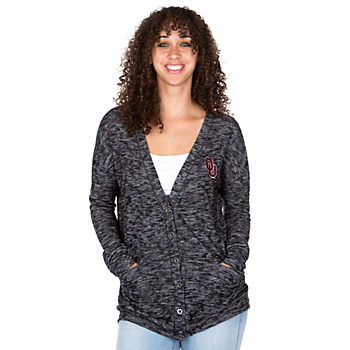 Oklahoma Sooners Colosseum Womens Had Me At Hello Cardigan