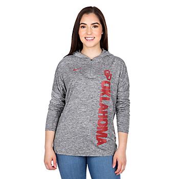 Oklahoma Sooners Nike Dry Element Half Zip Pullover