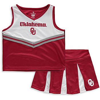 Oklahoma Sooners Girls Pom Pom Cheer Set