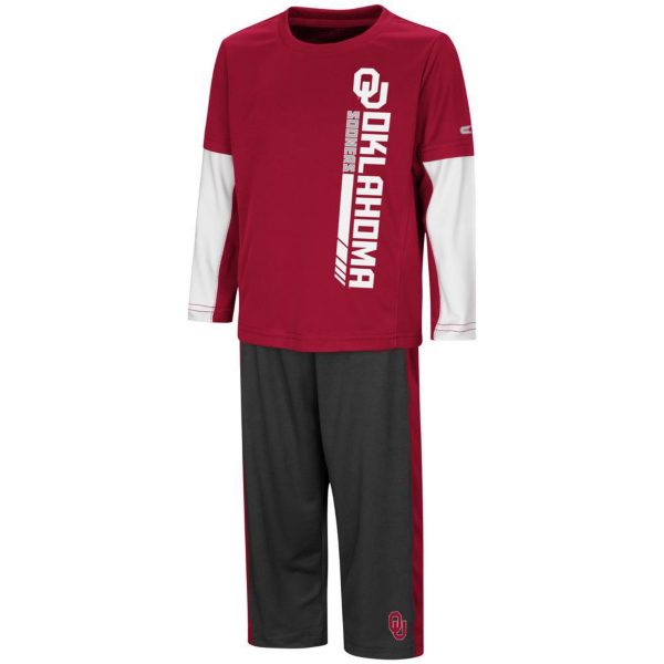 Oklahoma Sooners Colosseum Toddler We Got Us Set