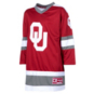 Oklahoma Sooners Colosseum Youth Athletic Machine Hockey Sweater Jersey