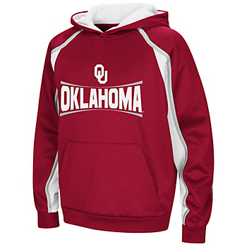 Oklahoma Sooners Youth Hook and Lateral Pullover Hoody