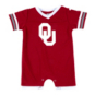 Oklahoma Sooners Colosseum Infant Boys One Time Football Onesie Romper