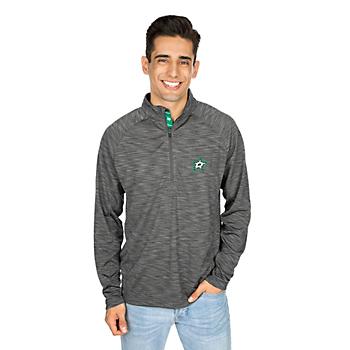 Dallas Stars Levelwear Mobility State Stripe Quarter-Zip Jacket