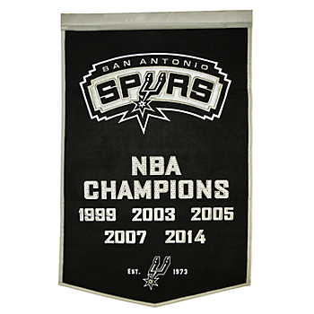 San Antonio Spurs Dynasty Banner