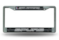 San Antonio Spurs Bling Chrome License Plate Frame
