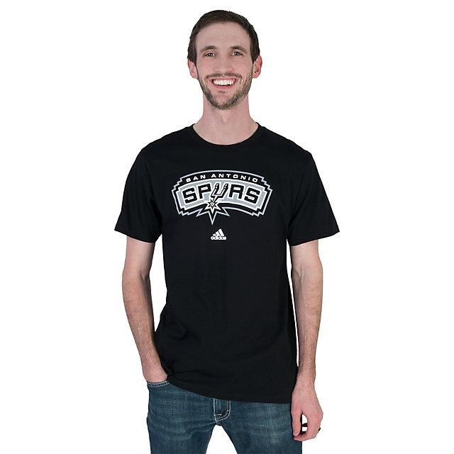 San Antonio Spurs Adidas Full Primary Logo Tee