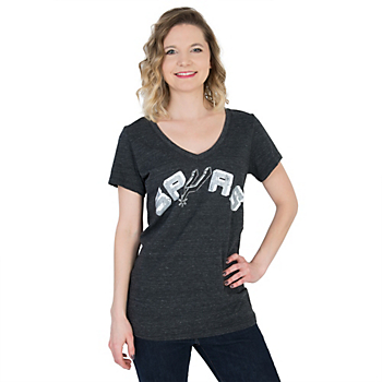 San Antonio Spurs 5th & Ocean V-Neck Tee