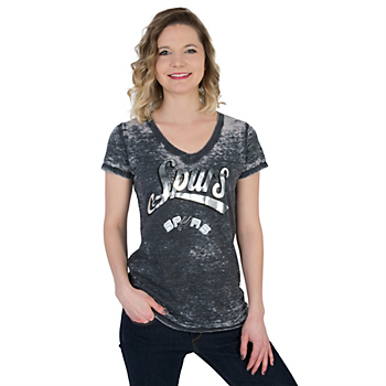 San Antonio Spurs 5th & Ocean Burnout Tee
