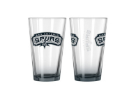 San Antonio Spurs 16 oz. Elite Pint Glass