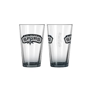 San Antonio Spurs 16 oz. Elite Pint Glass