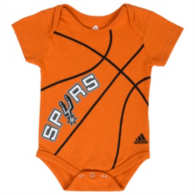 San Antonio Spurs Adidas Fanatic Basketball Creeper