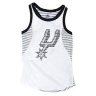 San Antonio Spurs Adidas Girls Court Tank