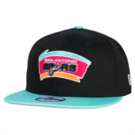 San Antonio Spurs New Era Kid Two-Tone 9Fifty Cap