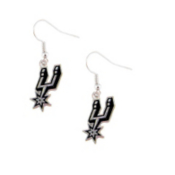 San Antonio Spurs Logo Dangler Earrings