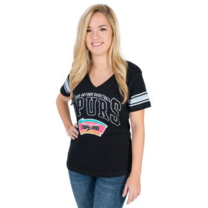 San Antonio Spurs Womens G-III Playoff Tee